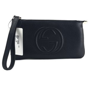 2d24504d28c Black Gucci Wristlets - Up to 90% off at Tradesy
