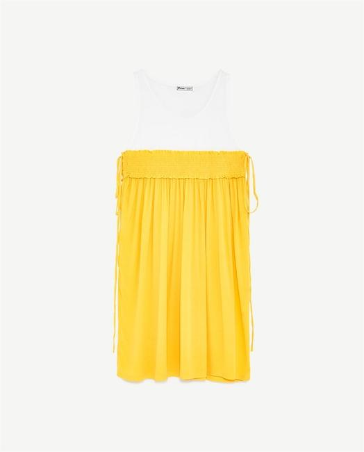 Zara short dress Yellow on Tradesy Image 2