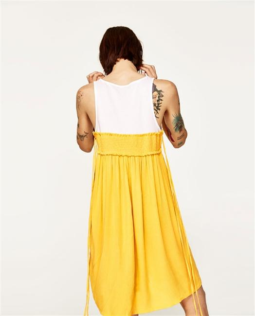 Zara short dress Yellow on Tradesy Image 3