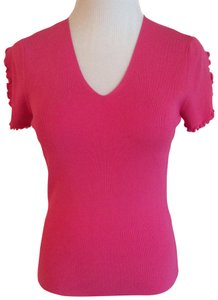 Cyrus V-neck Cute Sleeve Detail Sweater
