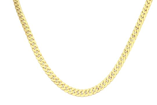 Preload https://img-static.tradesy.com/item/23180531/yellow-gold-hollow-10k-miami-cuban-link-chain-6mm-for-men-necklace-0-0-540-540.jpg