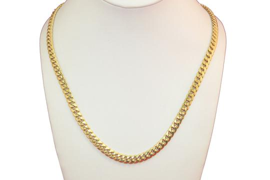 other Hollow 10K Miami Cuban Link Chain 6mm for Men Image 1