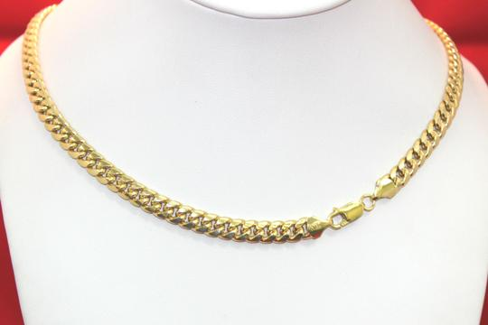 other Hollow 10K Miami Cuban Link Chain 6mm for Men Image 2