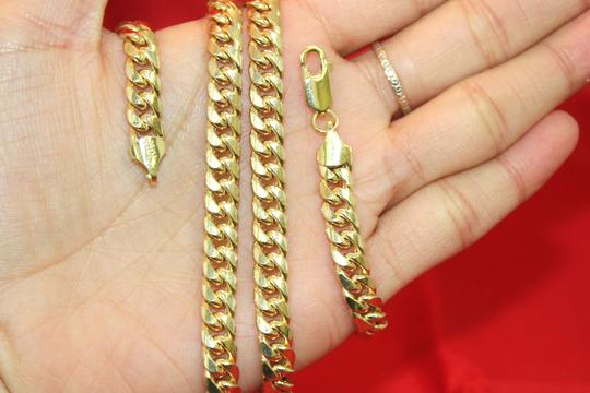 other Hollow 10K Miami Cuban Link Chain 6mm for Men Image 3