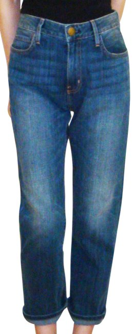 Item - Blue Distressed New Relaxed Fit Jeans Size 25 (2, XS)