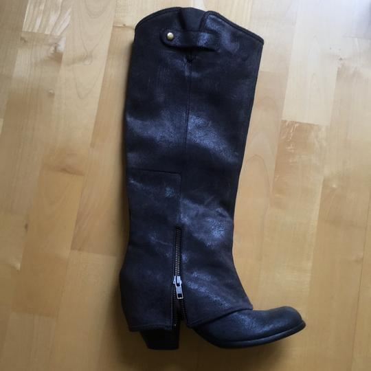 Fergie navy Boots Image 1