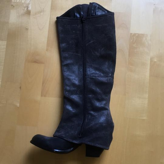 Fergie navy Boots Image 2