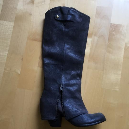Fergie navy Boots Image 4