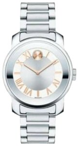 Movado Movado Women's Swiss Bold Luxe Stainless Steel Bracelet Watch 32mm