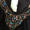 Aqua black Multi Maxi Dress by Maurices Tropical Summer New Image 11