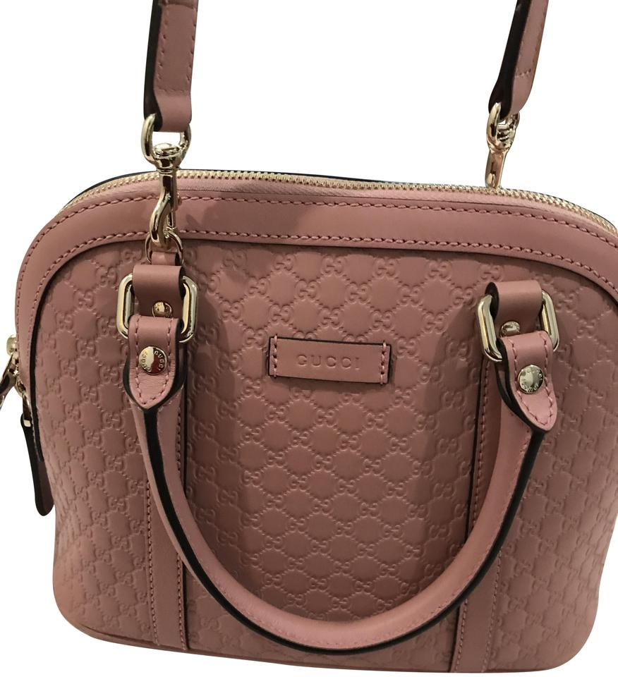 09ca1bc2fd26 Gucci Purse Handbag Red Leather Satchel in Pink Image 0 ...