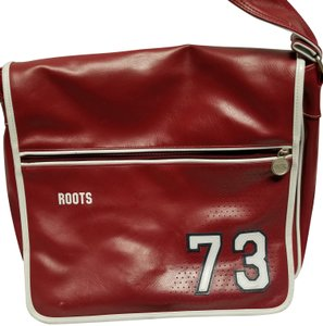 Roots Red/White Messenger Bag