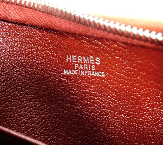 Hermès Canvas Shoulder Leather Vintage Cross Body Bag Image 7