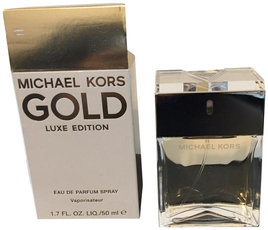 Preload https://img-static.tradesy.com/item/23181041/michael-kors-gold-luxe-edition-17oz-fragrance-0-1-540-540.jpg