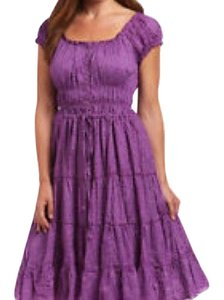 purple Maxi Dress by Aryeh