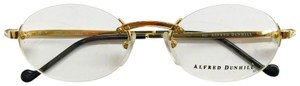 Alfred Dunhill Alfred Dunhill Rimless Gold Frame Glasses