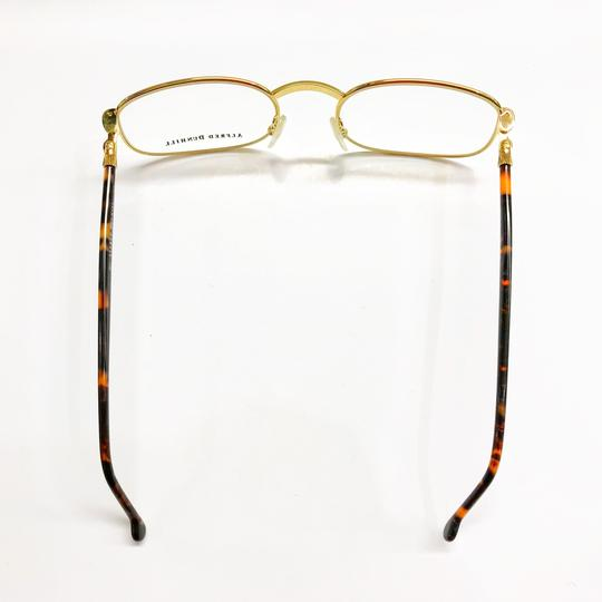 Alfred Dunhill Alfred Dunhill Gold and Tortoiseshell Frame Glasses Image 3