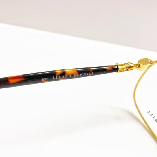 Alfred Dunhill Alfred Dunhill Gold and Tortoiseshell Frame Glasses Image 4