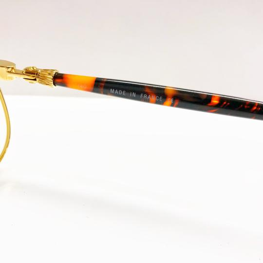 Alfred Dunhill Alfred Dunhill Gold and Tortoiseshell Frame Glasses Image 6