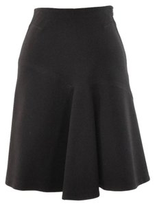 Dorothee Schumacher Stretch Suiting A-line Skirt Black