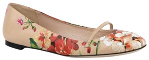 Gucci Women's Leather Ballet Pink Flats