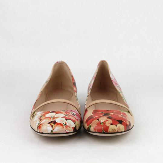 Gucci Women's Leather Ballet Pink Flats Image 2