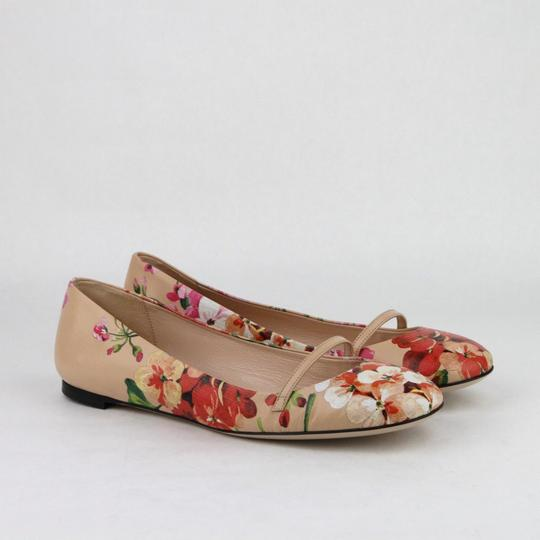 Gucci Women's Leather Ballet Pink Flats Image 3