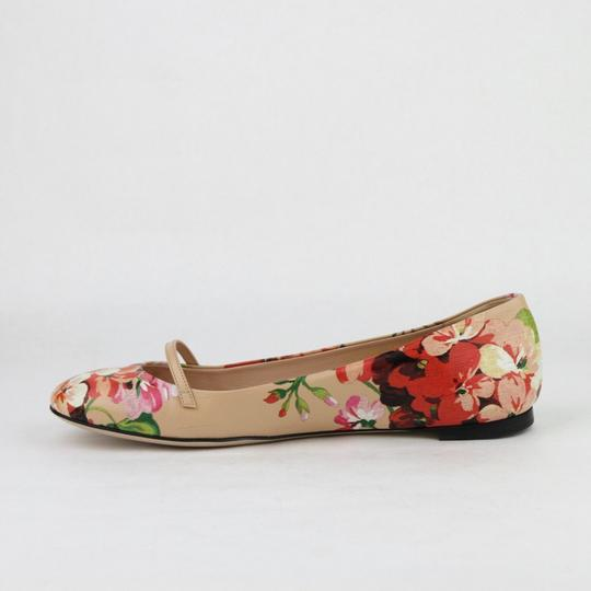 Gucci Women's Leather Ballet Pink Flats Image 6