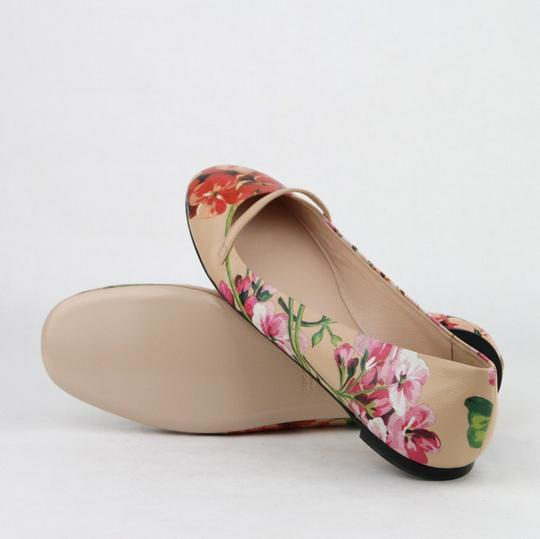 Gucci Women's Leather Ballet Pink Flats Image 7
