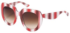 Dolce&Gabbana Dolce & Gabbana Women Sunglasses DG4191P 272213 Red Frame Brown Lens