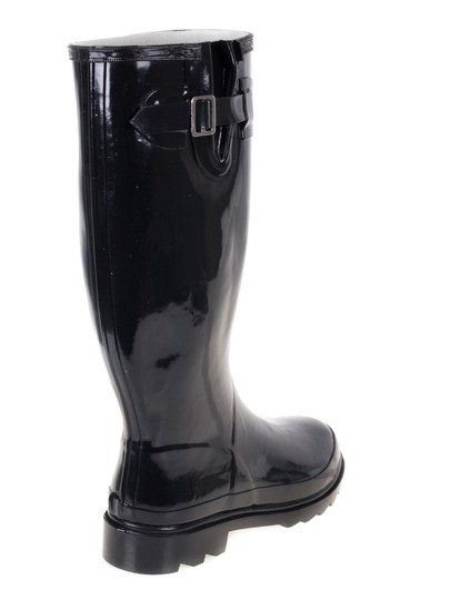 Forever Young Rainboots Rain Wellies Garden Black Boots Image 2