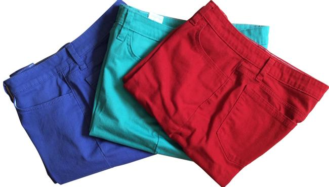 Preload https://img-static.tradesy.com/item/23182162/lee-red-teal-and-lavender-3-pairs-riders-10-bermuda-shorts-size-10-m-31-0-1-650-650.jpg