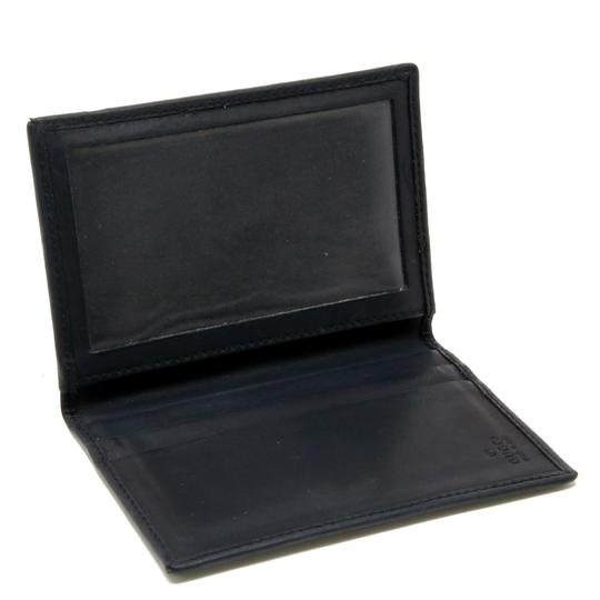 Gucci Vintage GG Marmont Calfskin Leather Fold Over Card Case Image 5