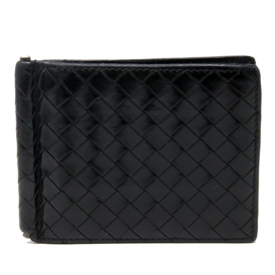 e40b2a6842d4 Bottega Veneta Light Tourmaline Intrecciato Money Clip BiFold Wallet Image  0 ...