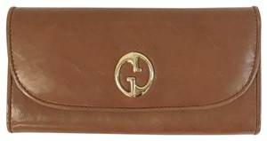 Gucci Gucci Leather 1973 Continental Wallet w/Zip Pocket 1 245739 2100