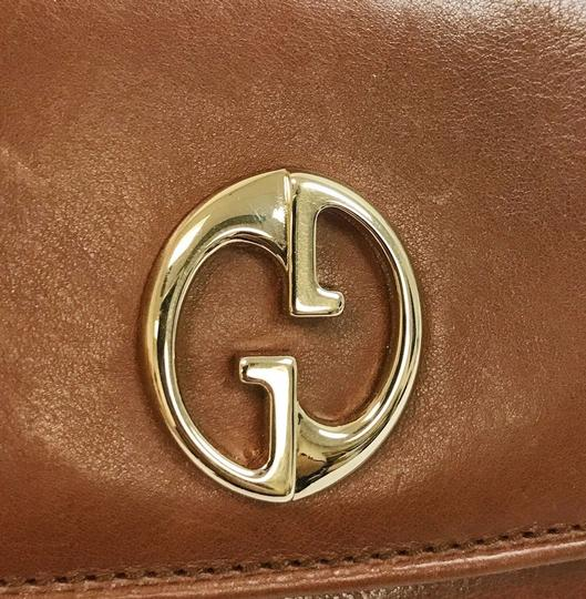 Gucci Gucci Leather 1973 Continental Wallet w/Zip Pocket 1 245739 2100 Image 2
