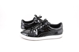 Puma * Black Classic Patent Sneakers Shoes