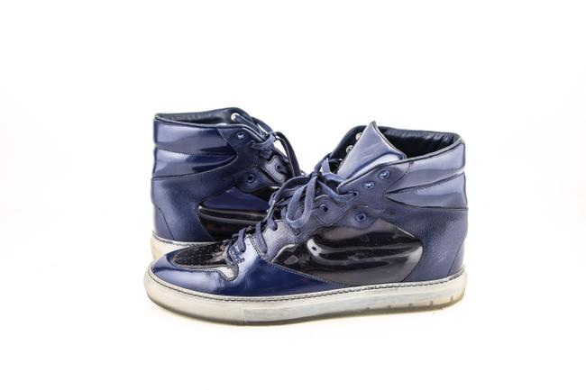 Item - * Blue Patent Sneakers Shoes