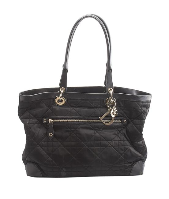 Item - Quilted Leather & (146271) Black Nylon Tote