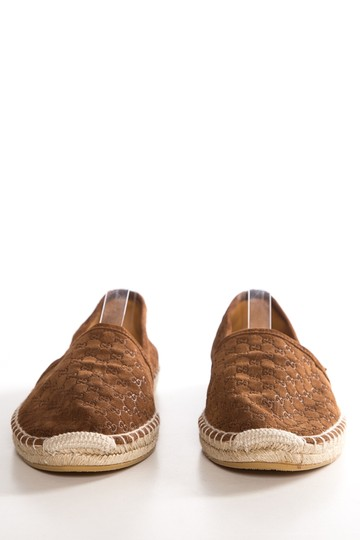 Gucci Brown Flats Image 1
