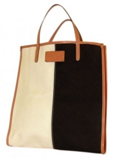 Preload https://item4.tradesy.com/images/kate-spade-color-block-pink-brown-off-white-orange-canvas-tote-23183-0-0.jpg?width=440&height=440