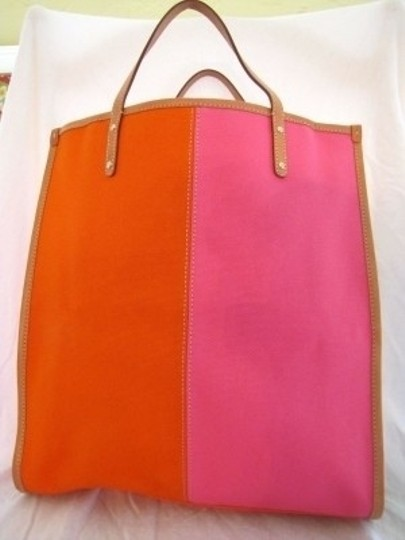 Kate Spade Tote in Pink, Brown, OFF White, Orange
