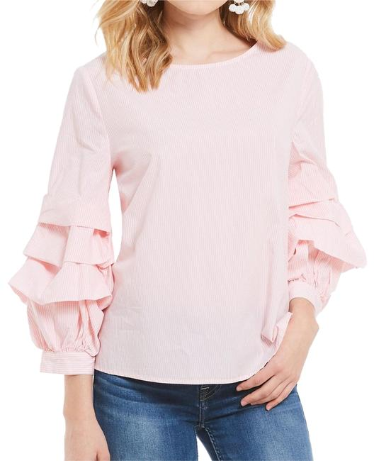 Preload https://img-static.tradesy.com/item/23183011/sanctuary-pink-delphine-tiered-ruffle-sleeve-striped-novelty-shirting-blouse-size-2-xs-0-1-650-650.jpg