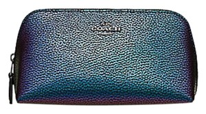 Coach Coach COSMETIC CASE 17 hologram leather F23670