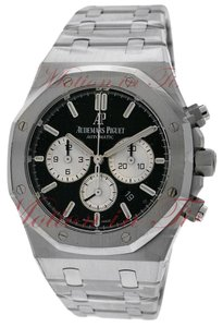 Audemars Piguet Audemars Piguet Royal Oak Chronograph 41mm, Black Dial - Steel