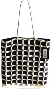 Alexander Wang Tote in black, white and silver