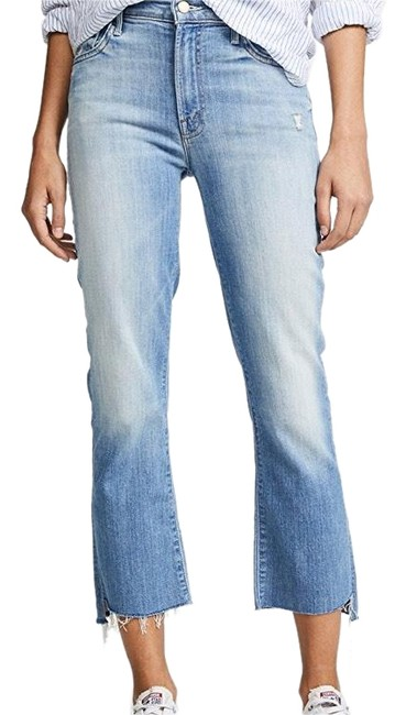 Preload https://img-static.tradesy.com/item/23183513/mother-light-denim-medium-wash-two-step-fray-capricropped-jeans-size-4-s-27-0-1-650-650.jpg