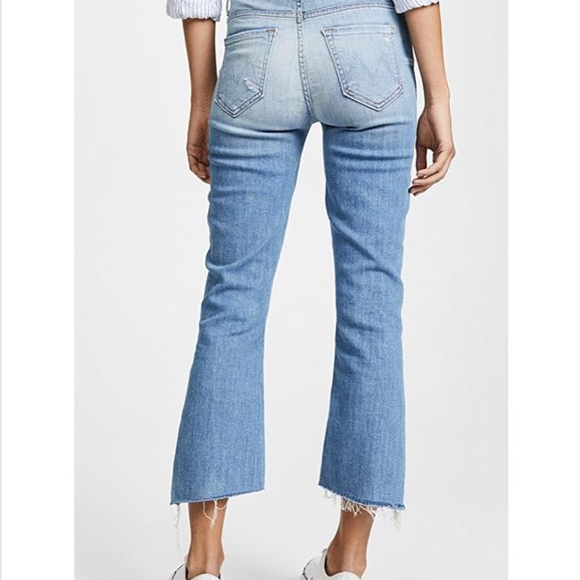 Mother Capri/Cropped Denim-Medium Wash Image 1