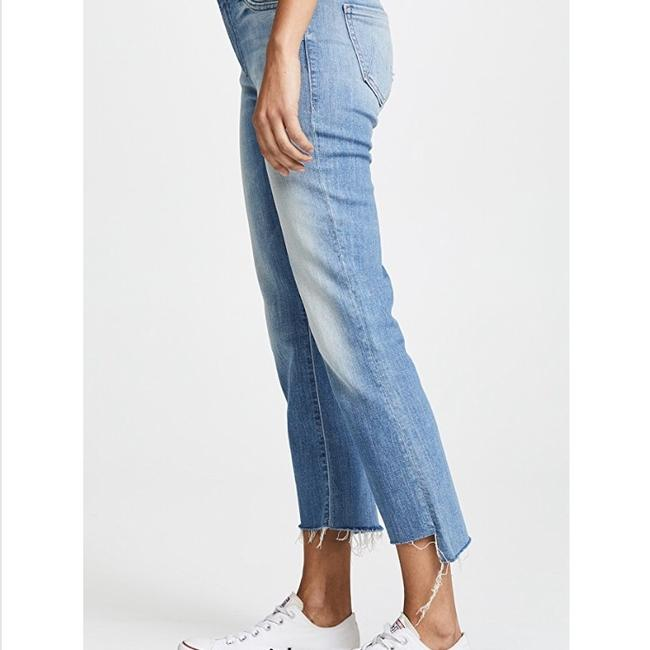 Mother Capri/Cropped Denim-Medium Wash Image 2