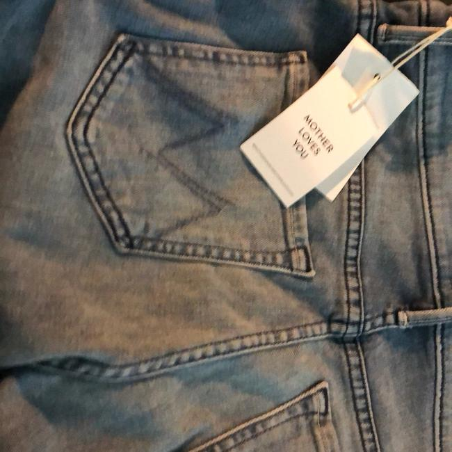 Mother Capri/Cropped Denim-Medium Wash Image 5